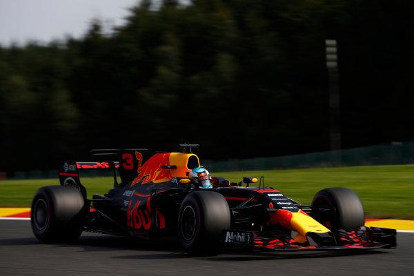Spa Francorchamps, Belgium.  Friday 25 August 2017. Daniel Ricciardo, Red Bull Racing RB13 TAG Heuer.  World Copyright: Glenn Dunbar/LAT Images  ref: Digital Image _31I4722