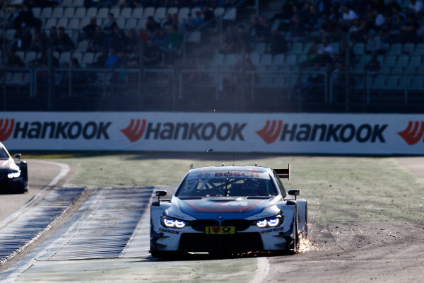 2017 DTM Round 9  Hockenheimring, Germany  Sunday 15 October 2017. Tom Blomqvist, BMW Team RBM, BMW M4 DTM  World Copyright: Alexander Trienitz/LAT Images ref: Digital Image 2017-DTM-HH2-AT3-2119