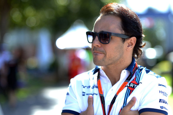 Felipe Massa (BRA) Williams at Formula One World Championship, Rd1, Australian Grand Prix, Preparations, Albert Park, Melbourne, Australia, Wednesday 11  March 2015.