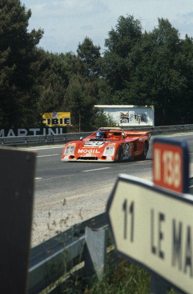 Le Mans, France. 9th - 10th June 1979 Robin Smith/Tony Charnell/Richard Jones (Chevron B36 Ford), 17th position, action. World Copyright: LAT Photographic Ref: 79LM26.