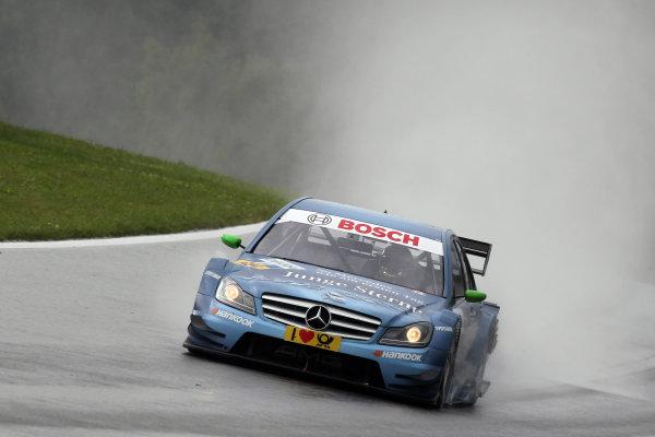 Christian Vietoris (GER), Junge Sterne AMG Mercedes.DTM, Rd3, Red Bull Ring, Spielberg, Austria. 3-5 June 2011.World Copyright: LAT Photographicref: Digital Image dne1103ju42