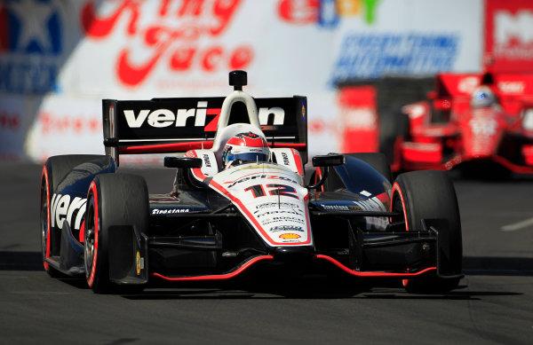 13-15 April, 2012, Long Beach, California USAWill Power leads Dario Franchitti(c)2012, Phillip AbbottLAT Photo USA
