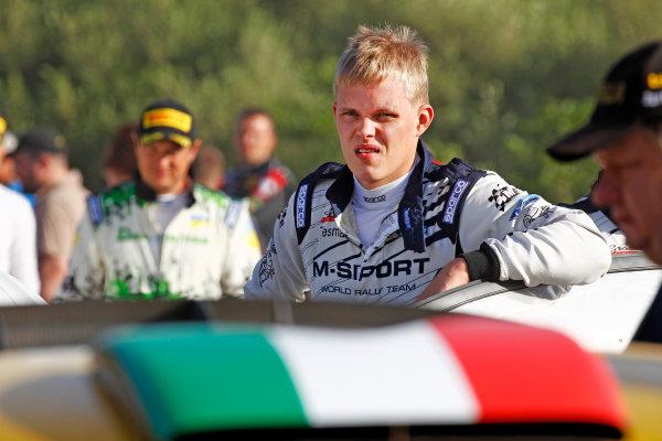 2015 World Rally Championship Rally d'Italia Sardegna 11th - 14th June 2015 Ott Tanak, Ford, portrait   Worldwide Copyright: McKlein/LAT