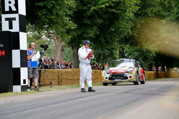 2014 Goodwood Festival of Speed  Goodwood Estate, West Sussex, England. 26th - 29th June 2014.  Sunday 29 June 2014. Citroen DS3 WRC World Copyright: Adam Warner/LAT Photographic. ref: Digital Image _L5R7407