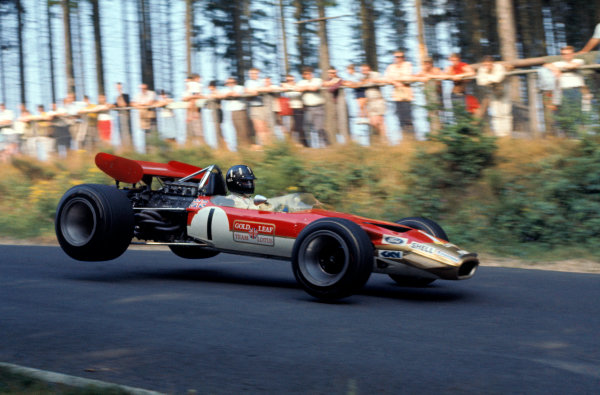 Nurburgring, Germany. 3rd August 1969.