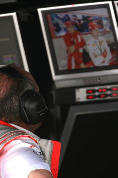 2007 Italian Grand Prix - Friday PracticeAutodromo di Monza, Monza, Italy.7th September 2007.Ron Dennis, Team Principal, McLaren Mercedes. Portrait.World Copyright: Charles Coates/LAT Photographicref: Digital Image ZK5Y1403