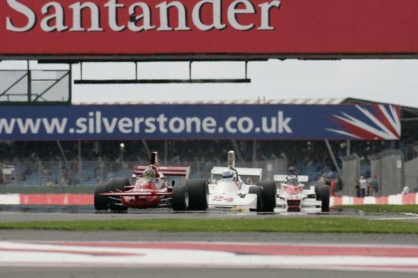 2007 Silverstone ClassicSilverstone, England. 28th & 29th July 2007.James Hunt Trophy for Formula One cars / GPMWorldwide Copyright: Colin McMaster/LATRef:_P6B0701 JPG.