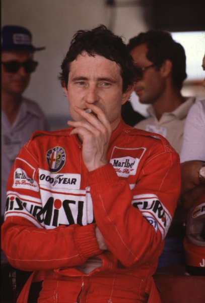 1980 Formula 1 World Championship.Patrick Depailler (Alfa Romeo).Ref-D2A 11.World - LAT Photographic