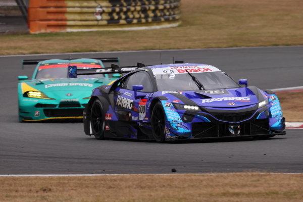 GT500 Winner and 2020 GT500 Drivers' Champions Naoki Yamamoto & Tadasuke Makino ( #100 RAYBRIG Honda NSX-GT )