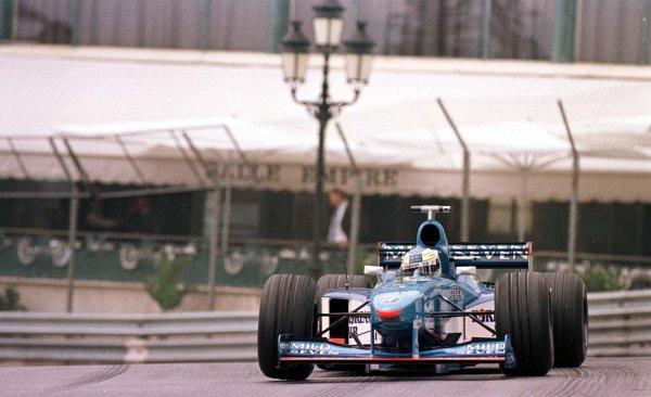 1998 Monaco Grand Prix.Monte Carlo, monaco.21-24 May 1998.Giancarlo Fisichella (Benetton B198 Playlife).World Copyright - LAT Photographic