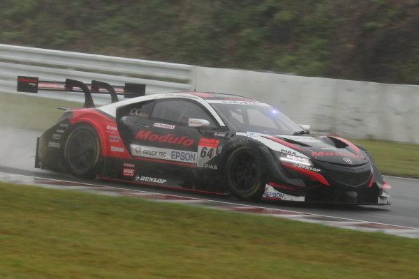 Narain Karthikeyan &  Tadasuke Makino, Modulo Nakajima Epson Honda NSX-GT, 2nd position in GT500