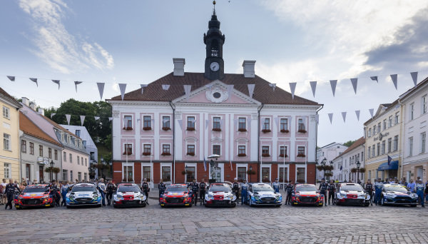WRC Teams and Drivers 2021