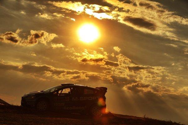 Mads Ostberg (NOR) / Ola Floene (NOR), M-Sport World Rally Team Ford Fiesta WRC at FIA World Rally Championship, Rd7, Rally Poland, Day Three, Mikolajki, Poland, 3 July 2016.