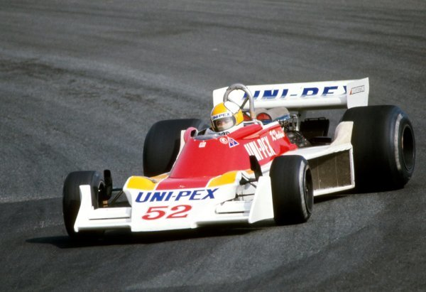 Kazuyoshi Hoshino (JPN), Tyrrell 007.Japanese Grand Prix, Rd16, Fuji, Japan, 24 October 1976.