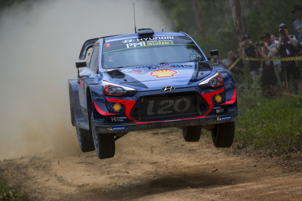 Thierry Neuville, Hyundai Motorsport, Hyundai i20 Coupé WRC 2018