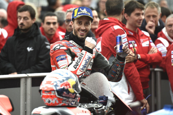 Race winner Andrea Dovizioso, Ducati Team.