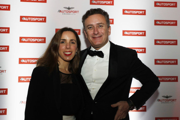 FIA Formula E CEO Alejandro Agag with wife Ana Aznar Botella.