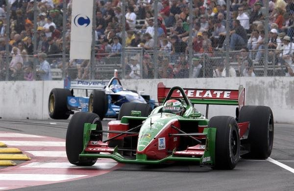 Adrian Fernandez (MEX) Fernadez Racing Lola Ford finished fifth.Champ Car World Series, Rd15, Centrix Financial Grand Prix of Denver, Denver, Colarado, USA, 31 August 2003.DIGITAL IMAGE