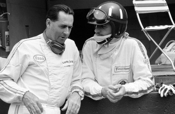 Jack Brabham and Graham Hill.