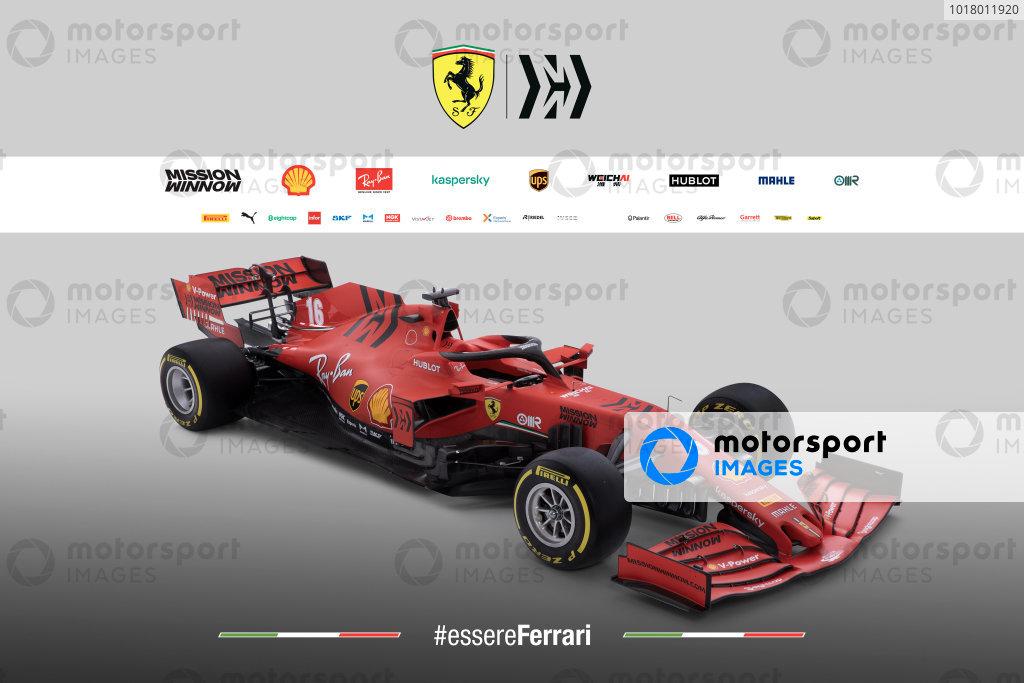 Ferrari livery unveil