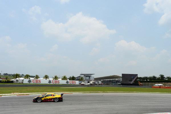 Mak Hing Tak (HKG) Kamlung Racing. Porsche Carrera Cup Asia, Sepang, Malaysia, 28-30 March 2014.