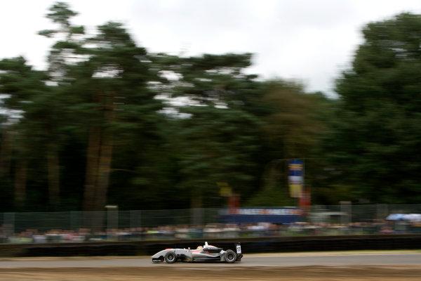 Roberto Merhi, Hitech Racing. Action. World Copyright: Drew Gibson/LATref: Digital Image _Y2Z3700