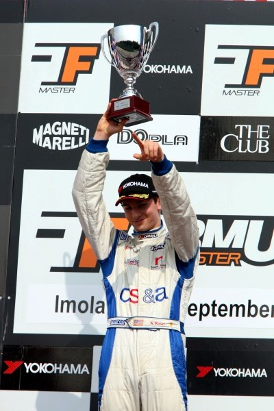 Race 2 winner Alexander Rossi (USA), ISR.