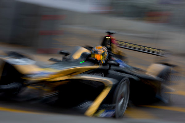 2016/2017 FIA Formula E Championship. Hong Kong ePrix, Hong Kong, China. Saturday 8 October 2016. Ma Qing Hau (CHN), Techeetah, Spark-Renault, Renault Z.E 16.  Photo: Alastair Staley/LAT/Formula E ref: Digital Image 585A9414