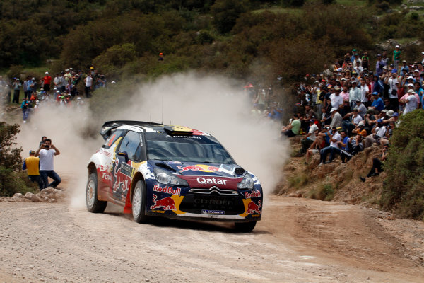 Round 06 - Rally Acropolis Greece. 24-27 May 2012. Thierry Neuville, Citroen WRC, Action. Worldwide Copyright: McKlein/LAT