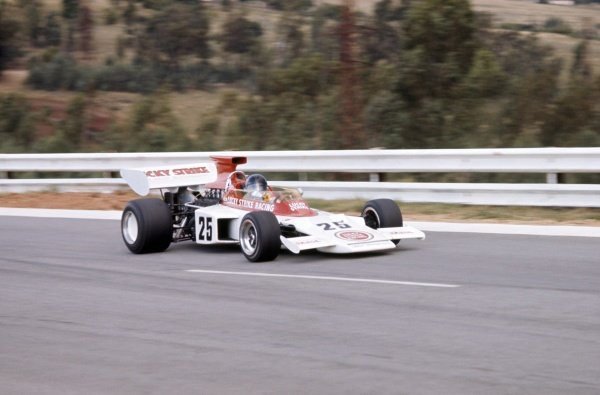1973 South African Grand Prix.Kyalami, South Africa. 1-3 March 1973.Dave Charlton (Lotus 72D-Ford Cosworth), retired.World Copyright: LAT PhotographicRef: 35mm transparency 73SA20