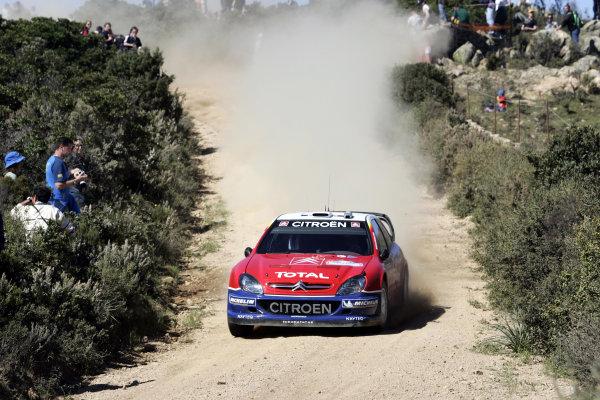 2005 World Rally ChampionshipRallye d'Italia, Sardinia, Italy. 29th April - 1st May 2005Francois Duval (Citroen Xsara WRC), action.World Copyright: McKlein/LAT Photographicref: Digital Image Only