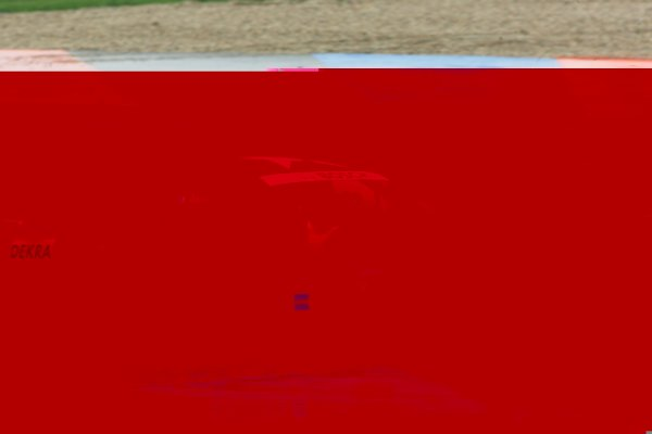 2006 DTM Championship.Round 2, Eurospeedway Lausitzring. 28th - 30th April 2006.Jean Alesi (FRA), Persson Motorsport AMG-Mercedes, AMG-Mercedes C-Klasse, running wide over the grass, spinning offWorld Copyright: Miltenburg/xpb cc/LATref: Digital Image Only