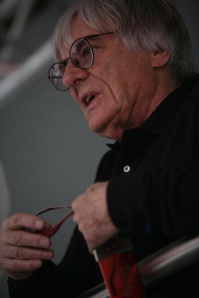 2006 San Marino Grand Prix - Thursday Preview Imola, Italy. 20th - 23rd April 2006 Bernie Ecclestone, portrait. World Copyright: . Charles Coates/LAT Photographic.  ref: Digital Image ZK5Y7555