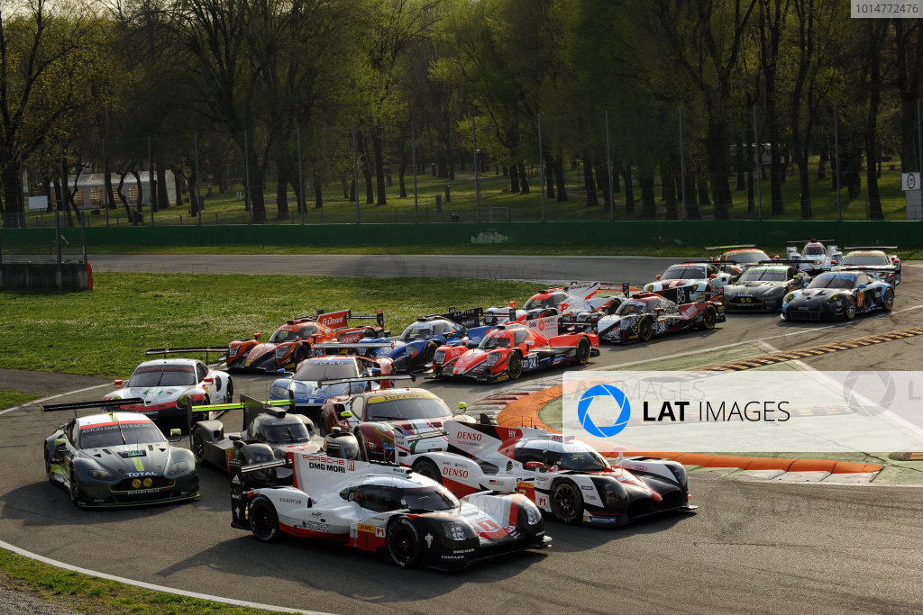 2017 FIA World Endurance Championship, 31st March - 2nd April, 2017, Monza Prologue, FIA WEC 2017 Group Photo World Copyright: JEP/LAT Images.