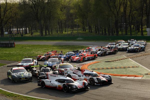 2017 FIA World Endurance Championship, 31st March - 2nd April, 2017, Monza Prologue, FIA WEC 2017 Group Photo World Copyright: JEP/LAT Images.
