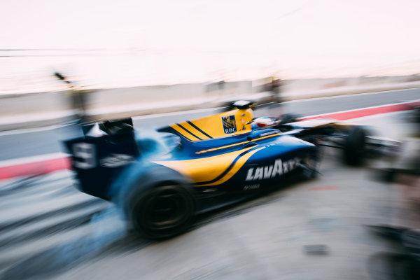Bahrain International Circuit, Sakhir, Bahrain. Friday 31 March 2017 Oliver Rowland (GBR) DAMS  Photo: Malcolm Griffiths/FIA Formula 2 ref: Digital Image MALC1692