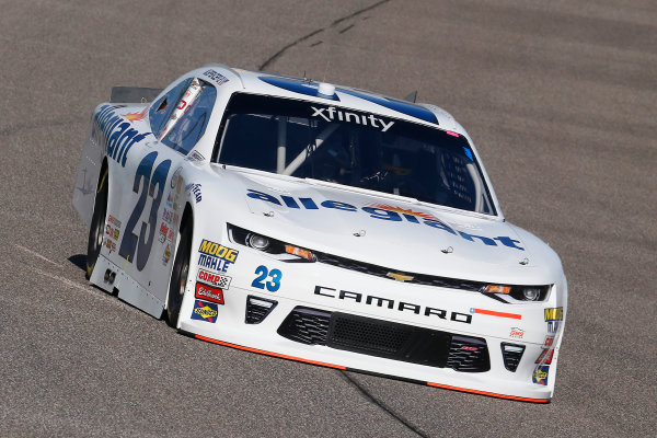 NASCAR XFINITY Series Ford EcoBoost 300 Homestead-Miami Speedway, Homestead, FL USA Friday 17 November 2017 Spencer Gallagher, Allegiant Airlines Chevrolet Camaro World Copyright: Russell LaBounty LAT Images