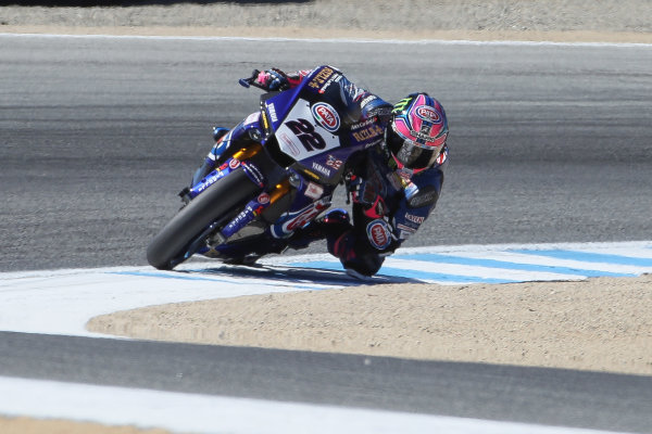 2017 Superbike World Championship - Round 8 Laguna Seca, USA. Friday 7 July 2017 Alex Lowes, Pata Yamaha World Copyright: Gold and Goose/LAT Images ref: Digital Image 682940