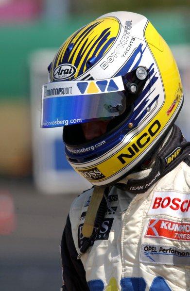 2003 Formula Three EuroseriesNurburgring, Germany. 16th - 17th August 2003.Nico Rosberg (Team Rosberg), portrait.World Copyright: Andre Irlmeier/LAT Photographicref: Digital Image Only