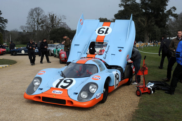 x England 20th March 2013 Porsche 917 World Copyright: Jeff Bloxham/LAT Photographic Ref: Digital Image Only