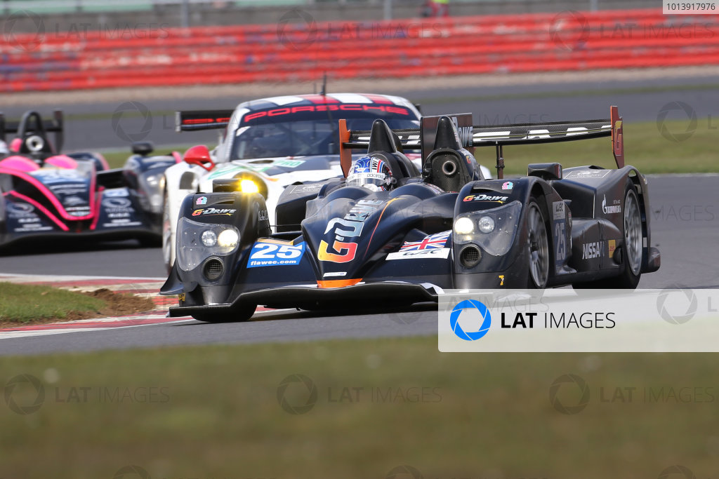 2013 FIA WEC Championship, Silverstone, Northamptonshire. 12th - 14th April 2013. Tor Graves / Antonio Pizzonia / James Walker Delta ADR Oreca 03 Nissan World Copyright: Ebrey / LAT Photographic.