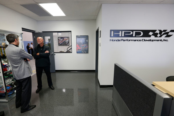 11-23  May, 2013, Indianapolis, Indiana, USA Grand Opening of the HPD Indy Tech Center and DIL Simulator © 2013, Michael L. Levitt LAT Photo USA.
