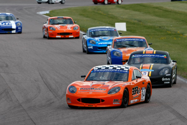 2013 Ginetta GT5 Challenge Rockingham, 5th and 6th May, 2013 Brad Bailey World Copyright. Ebrey/LAT Photographic