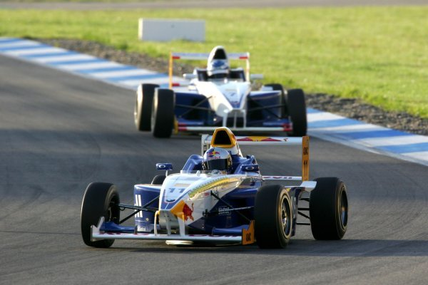 Sebastian Vettel (GER), ADAC Berlin Brandenburg e.V.. Formula BMW ADAC Championship, Rd10 race 2, Hockenheim, Germany. 3 October 2004.  DIGITAL IMAGE