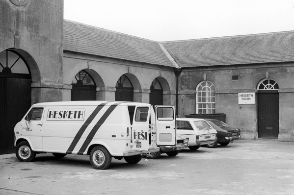 The headquarters of Hesketh Racing.