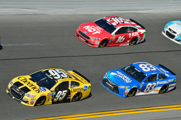 13-21 February, 2016, Daytona Beach, Florida USA Ty Dillon, Leavine Family Racing, Michael Waltrip, Greg Biffle ?2016, Logan Whitton  LAT Photo USA