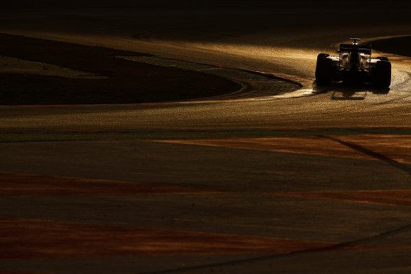 Circuit de Catalunya, Barcelona, Spain Monday 22 February 2016. Marcus Ericsson, Sauber C35 Ferrari. World Copyright: Sam Bloxham/LATPhotographic ref: Digital Image _SBL5489
