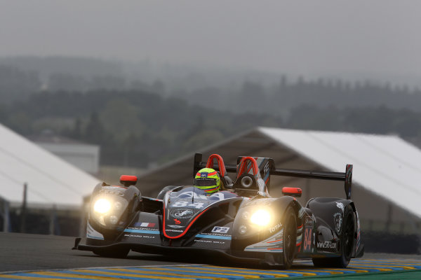 2016 Le Mans 24 Hours Test day, Le Mans, France. 5th June 2016. Frederic Sausset / Christophe Tinseau / Jean-Bernard Bouvet SRT41 by OAK Racing Morgan LMP2 - Nissan. World Copyright: Ebrey / LAT Photographic.
