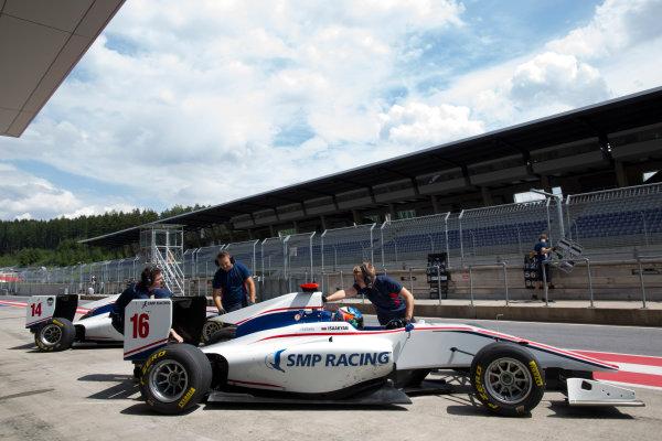 2016 GP3 Series Testing.  Spielberg, Austria. Red Bull Ring,  Wednesday 8th June 2016 . Matevos Isaakyan (RUS, Koiranen GP). Photo: Alastair Staley/GP3 Media Service  ref: 585A9275