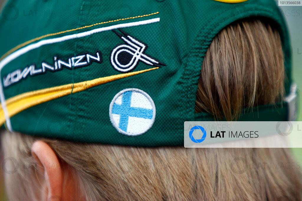 Albert Park, Melbourne, Australia24th March 2011.Heikki Kovalainen, Lotus T128 Cosworth. Portrait. World Copyright: Charles Coates/LAT Photographicref: Digital Image _26Y5878